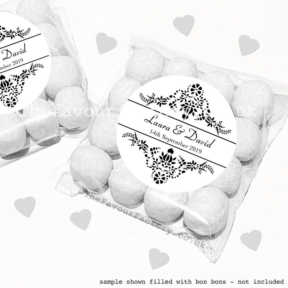 Wedding Sweet Bags Favour Kits Love Is Sweet x12