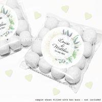 Wedding Sweet Bags Favour Kits Botanical Romance x12