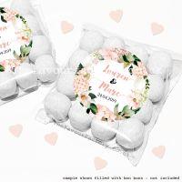 Wedding Sweet Bags Favour Kits Blush Hydrangeas x12