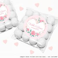Wedding Sweet Bags Favour Kits Geometric Floral Heart x12