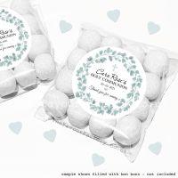 Holy Communion Sweet Bags Kits Eucalyptus x12