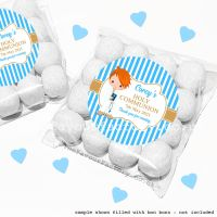 Holy Communion Sweet Bags Kits Ginger Hair Boy x12