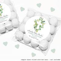 Holy Communion Sweet Bags Kits Botanical Cross x12