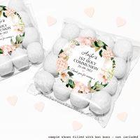 Holy Communion Sweet Bags Kits Blush Hydrangeas x12