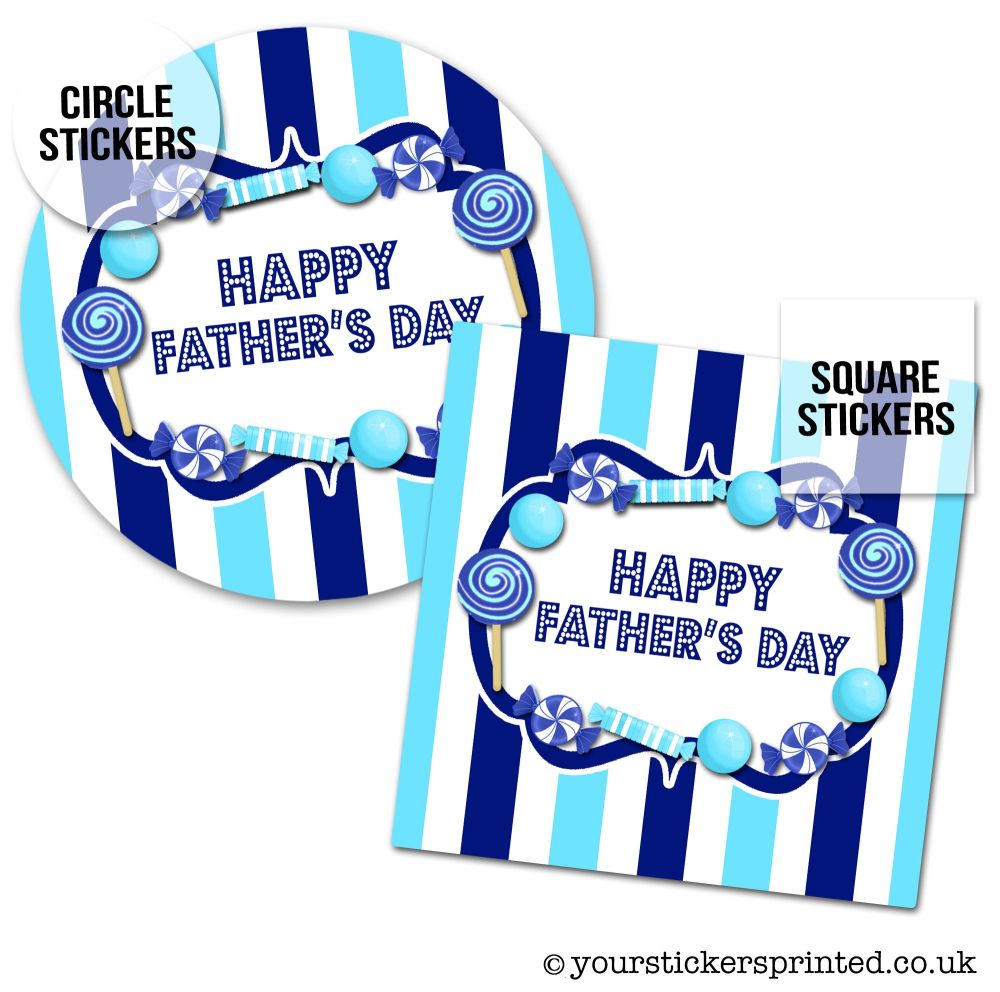 Father's Day Stickers Sweets