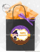 Halloween Party Bags Little Witch x1
