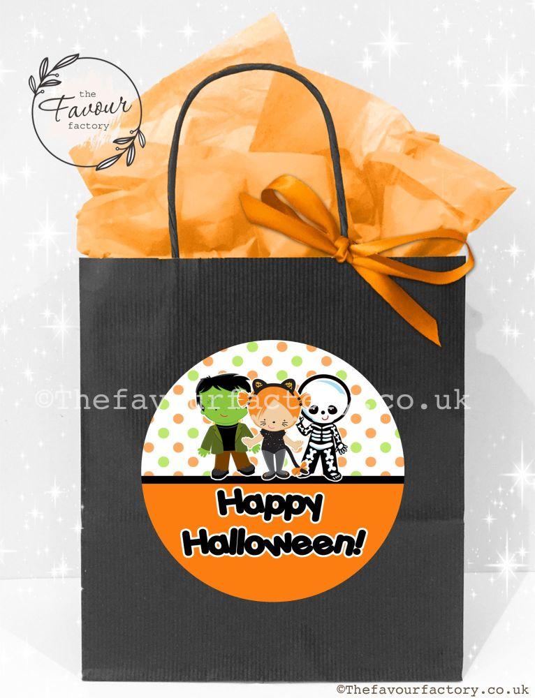 Halloween Party Bags Dress Up Kids x1