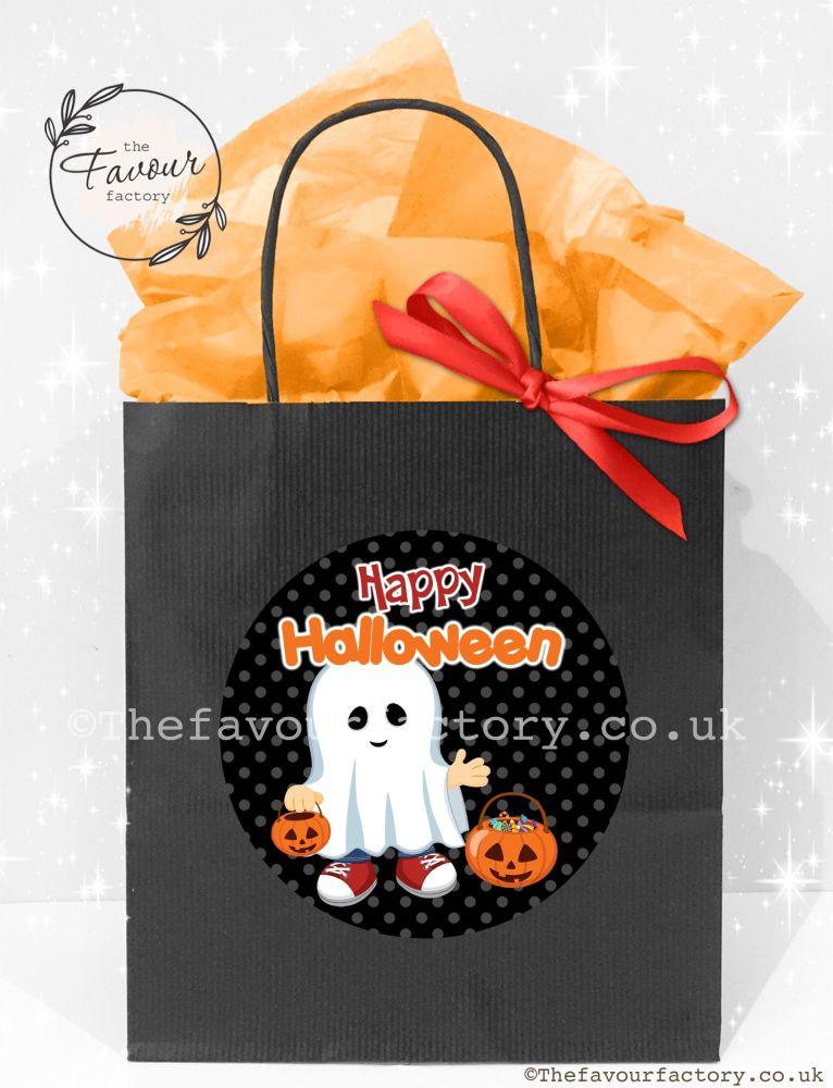 Halloween Party Bags Little Ghost Boy  x1