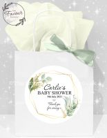 Baby Shower Party Bags Geometric Botanicals x 1