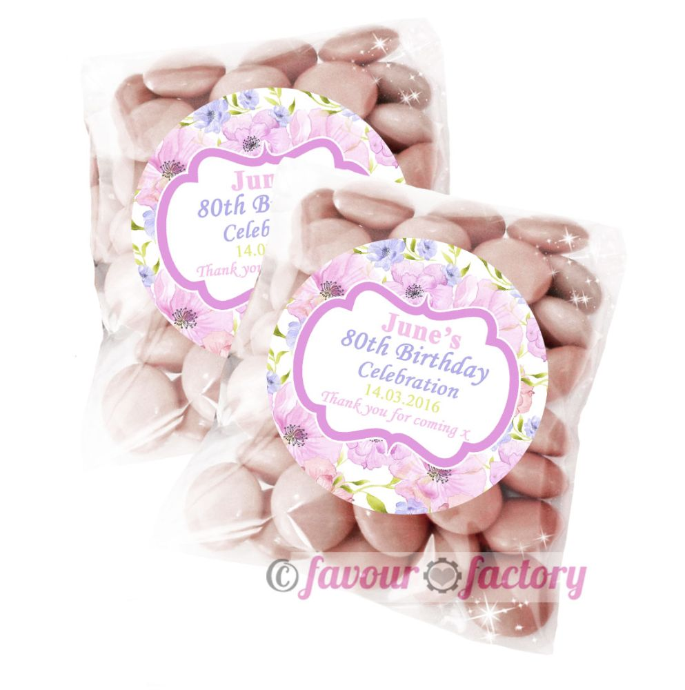 Personalised Birthday Party Sweet Bag Favours Kits