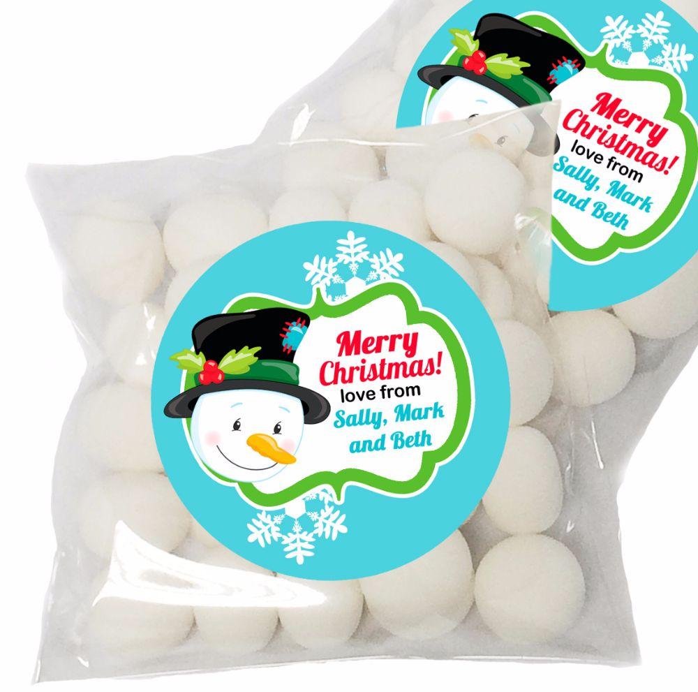 Personalised Christmas Sweet Bag Kits