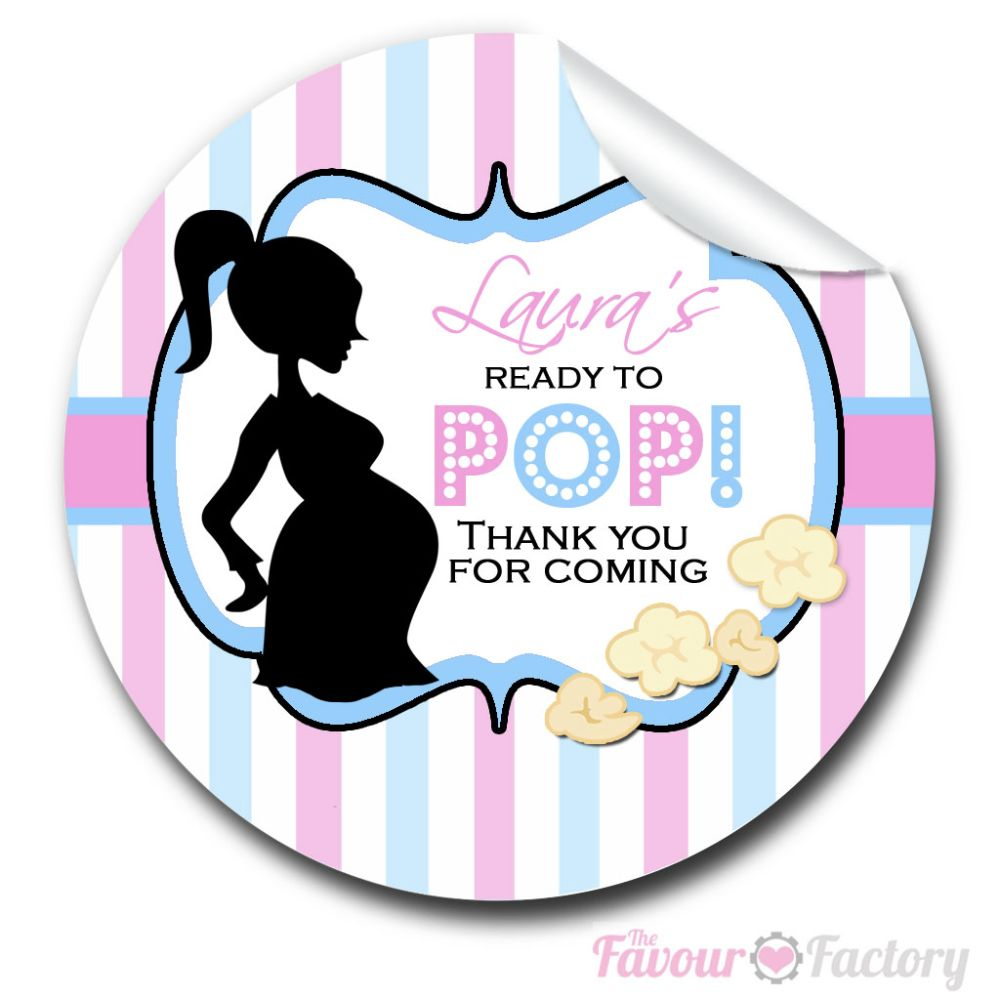 Baby shower Party Stickers