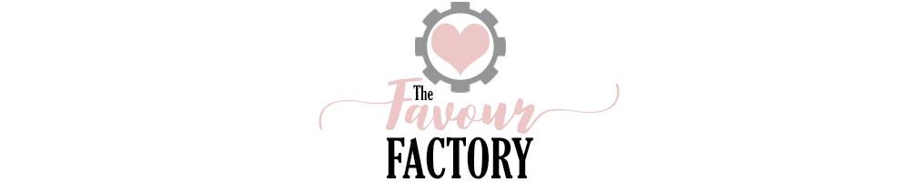The Favour Factory, site logo.