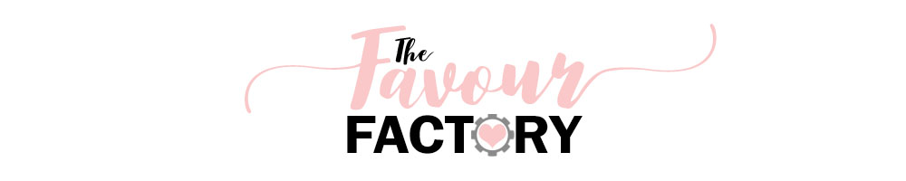 The Favour Factory, site logo.