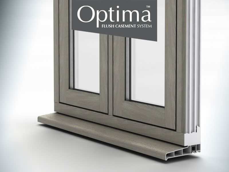 Optima Flush Casement