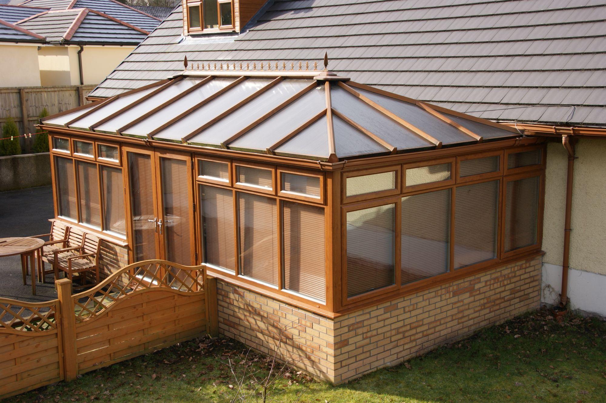 Box Gutter Conservatory