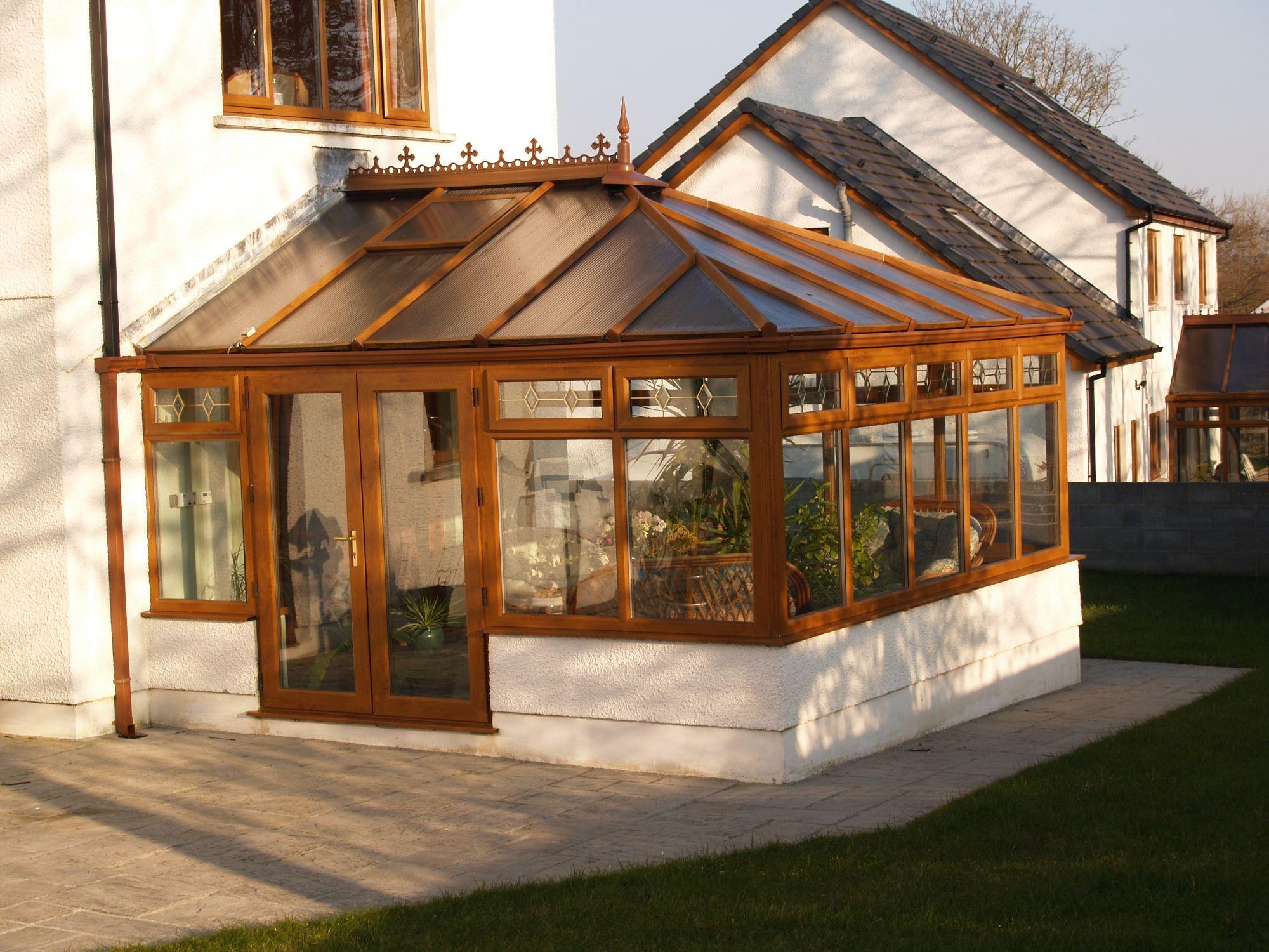 Oak Edwardian Conservatory
