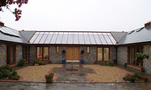 Bespoke Barn Conservatory