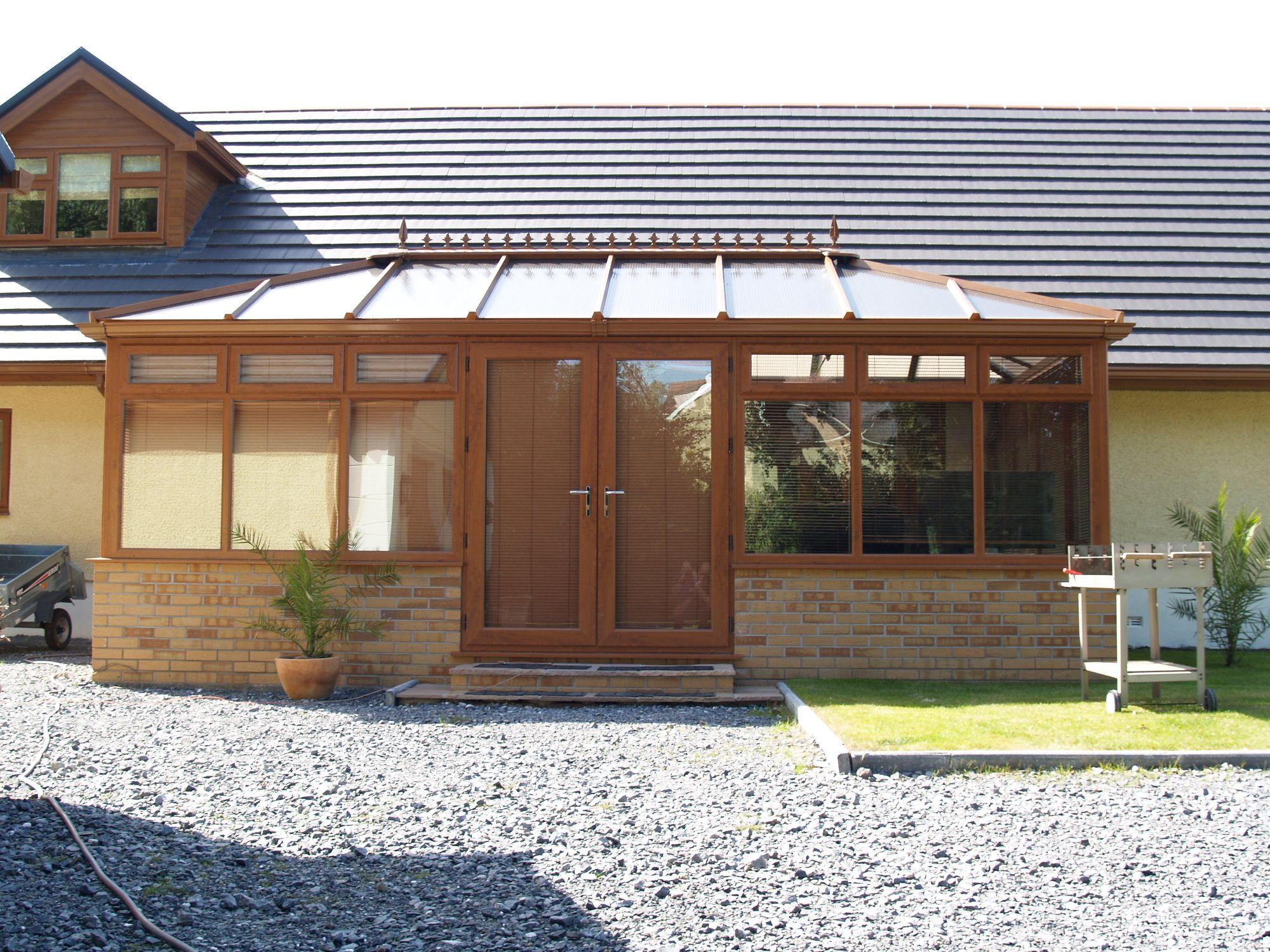 Double Edwardian Georgian Conservatory