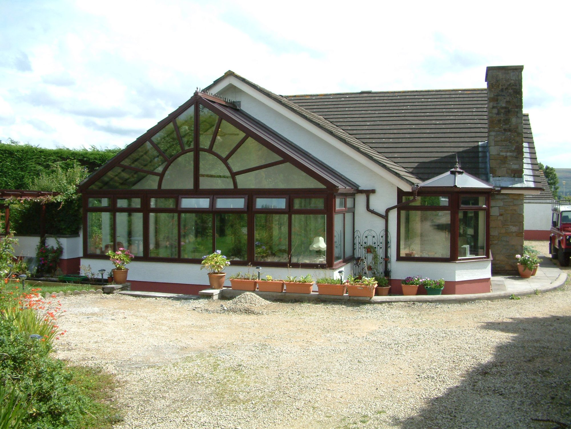 Glable Front Conservatory