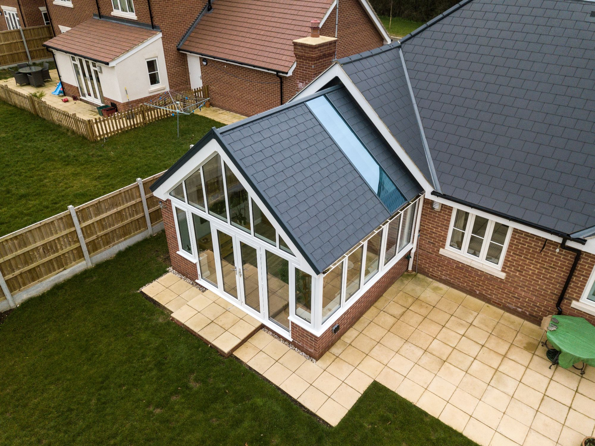 Tile Effect Roofs