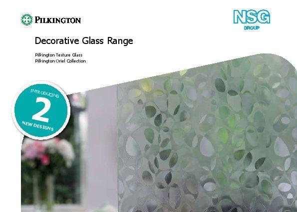 Pilkington Textured Glass Brochure