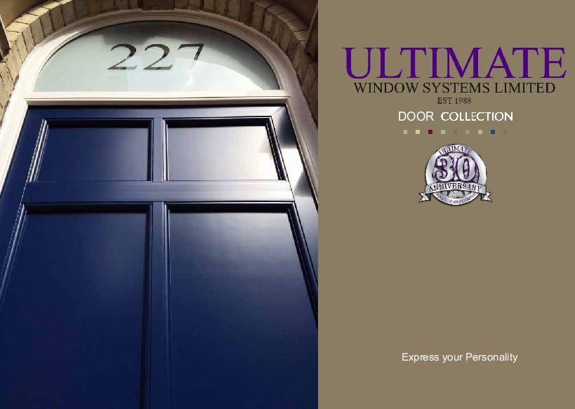 Ultimate PVC-u Door Collection