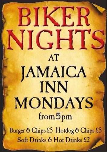 Jamaica Inn, Bike Night, Bodmin Moor, Cornwall – Monday