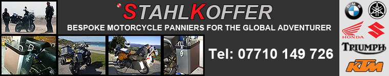 Stahlkoffer Panniers, motorcycle luggage, accessories.