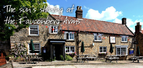 The Fauconberg Arms, Biker Friendly, Coxwold, North Yorkshire
