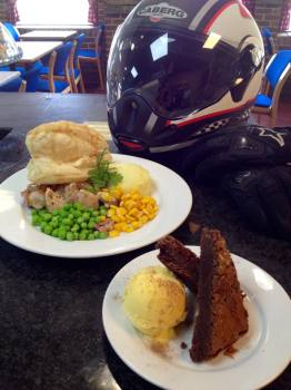 Loomies Cafe, Biker Friendly,great food, West Meon, Hampshire
