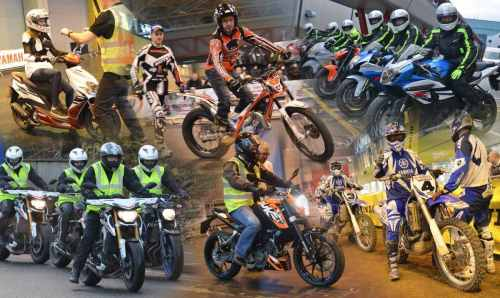 Six FREE opportunities to ride a bike at Motorcycle Live