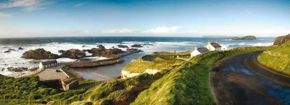 Nutt Travel, Ballintoy Harbour, County Antrim, Motorcycle routes