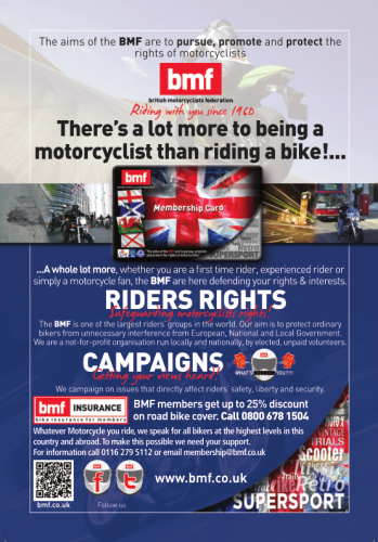 THE BIKER GUIDE - 5th edition, BMF