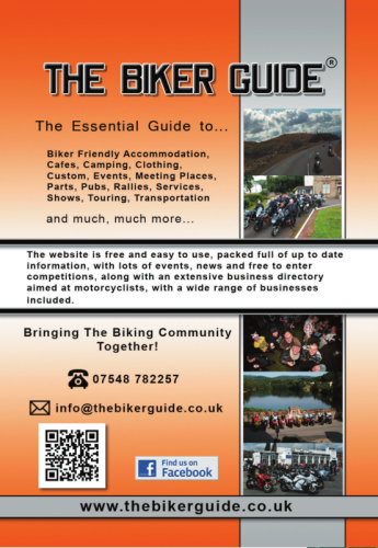 THE BIKER GUIDE - 5th edition, The essential guide for owners of a Motorcyc