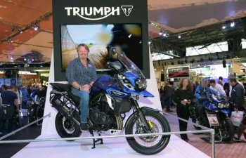 Charley Boorman - Triumph Motorcycle