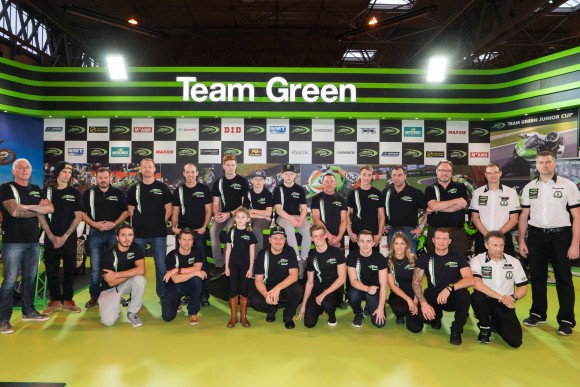 Kawasaki UK re-launch Team Green for the 2016 race season