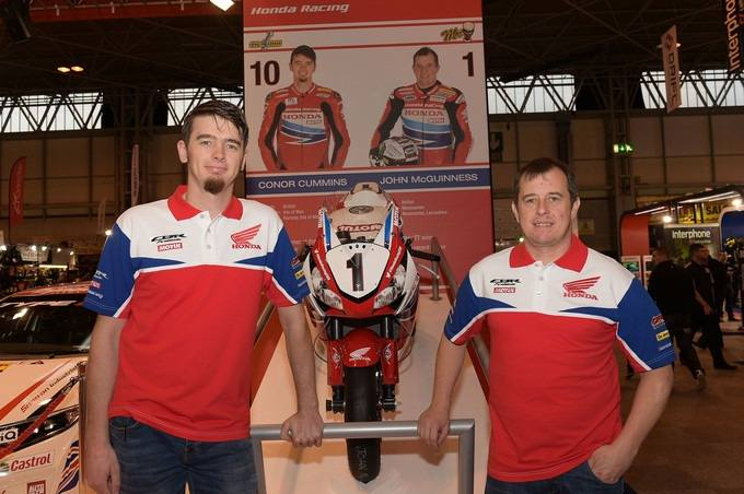 McGuinness and Cummins with Honda Racing for 2016‏
