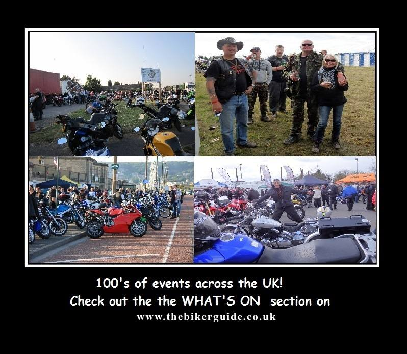 100s of events on THE BIKER GUIDE