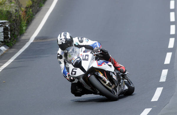 Michael Dunlop in action at the TT