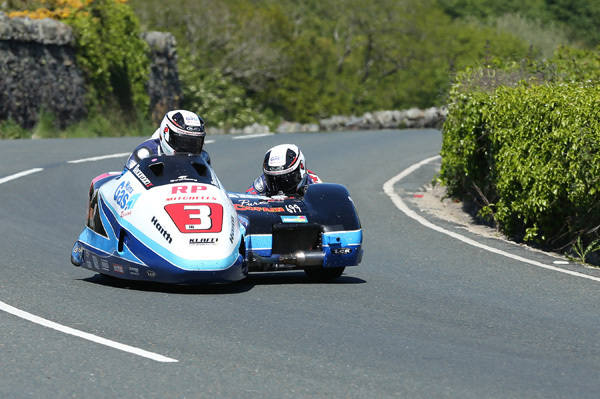 Ben and Tom Birchall took their second win of the 2015 Isle of Man TT Races