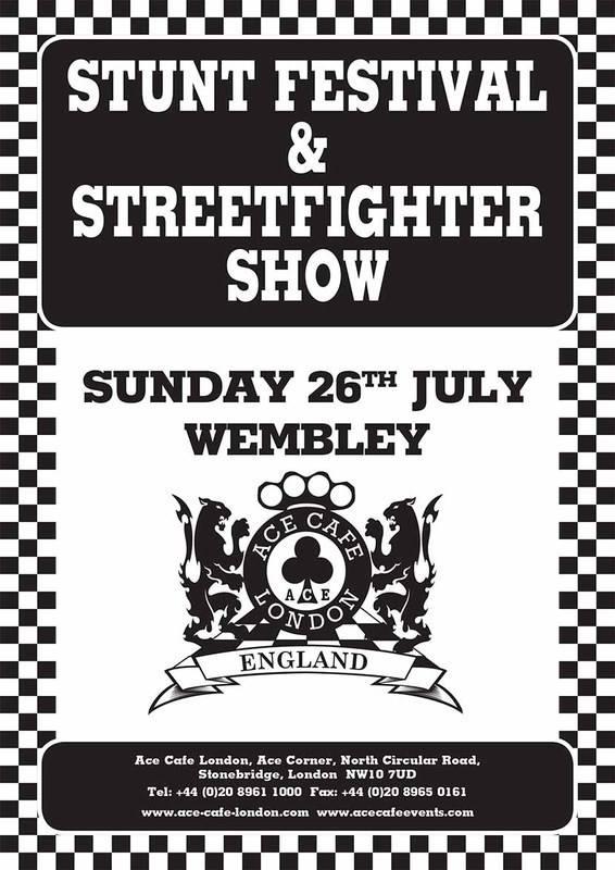 Ace Cafe London Stunt Festival & Streetfighter Show, Wembley 2015