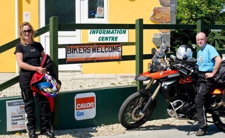 Penmarlam, Bikers Welcome, Camping, Fowey, Cornwall