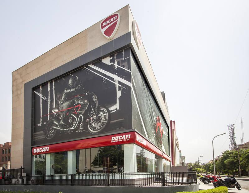 Ducati Store New Delhi India