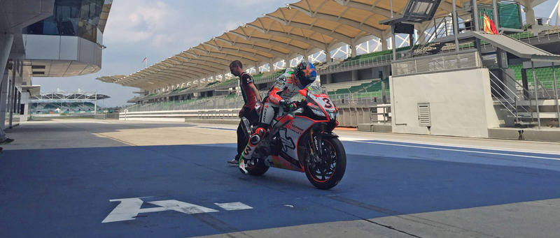 MAX BIAGGI PREPARES FOR HIS SECOND WILD CARD OF THE SEASON WITH APRILIA AT