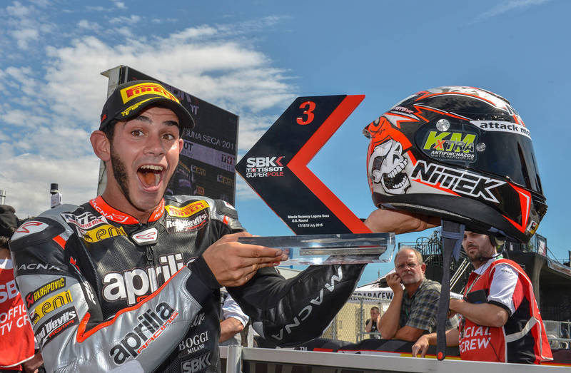 WITH A PERFECT SUPERPOLE JORDI TORRES TAKES THE FRONT ROW AT LAGUNA SECA