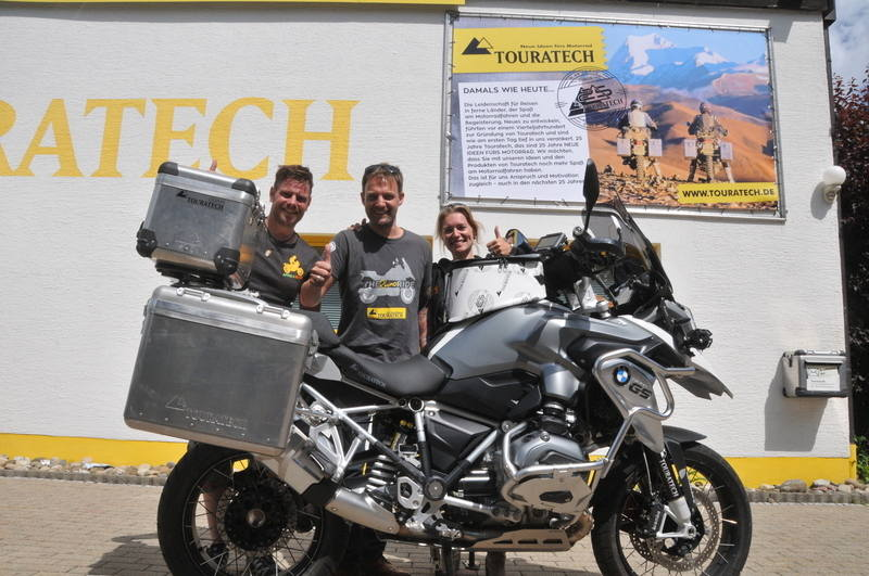 Touratech supports the Rhino Ride