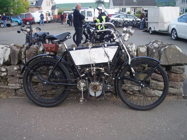 A 1905 Peugeot 500cc V-Twin