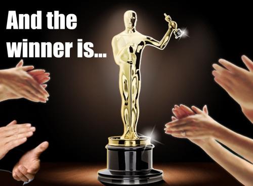 And the winner is - Oscar award