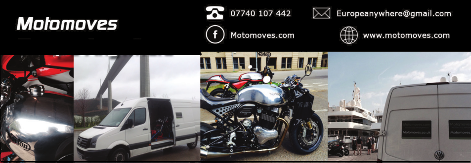 Motomoves, UK, European motorcycle transport, Scotland, Cassino, Italy, Any